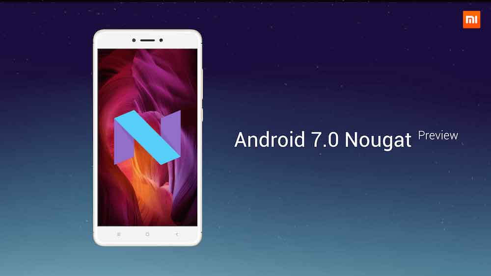 redmi note 4 Nougat preview
