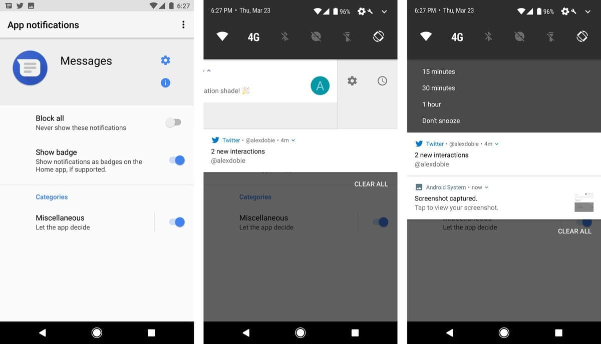 Android O-notifications