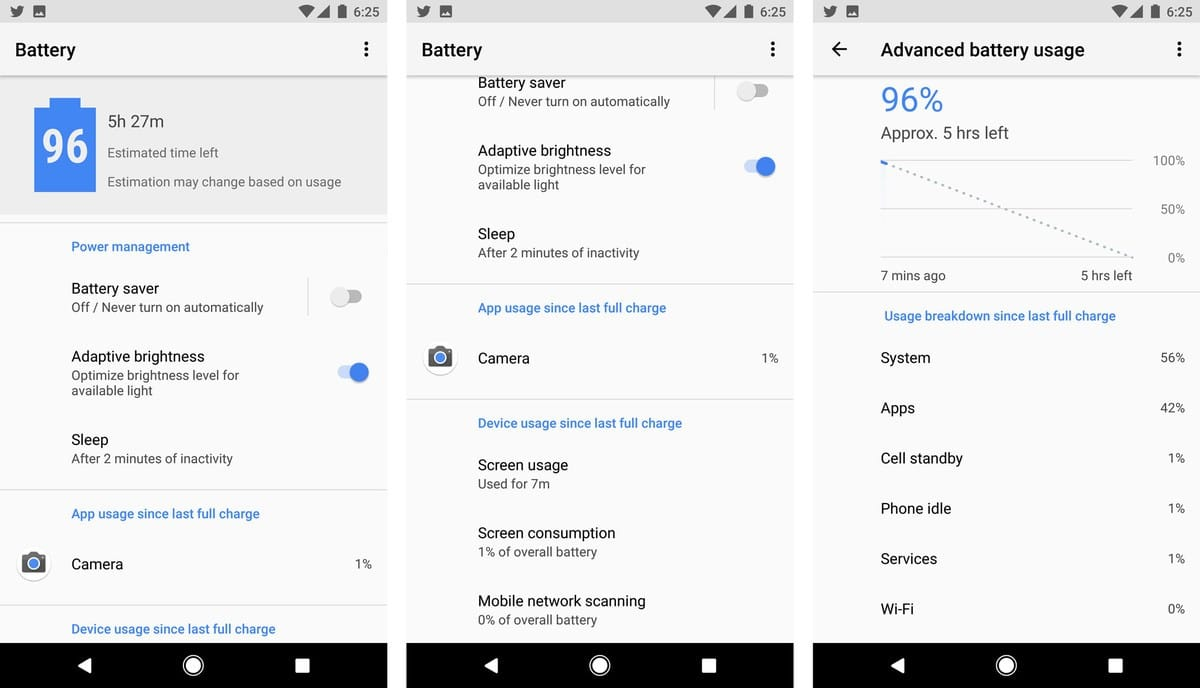 Android O-Setting