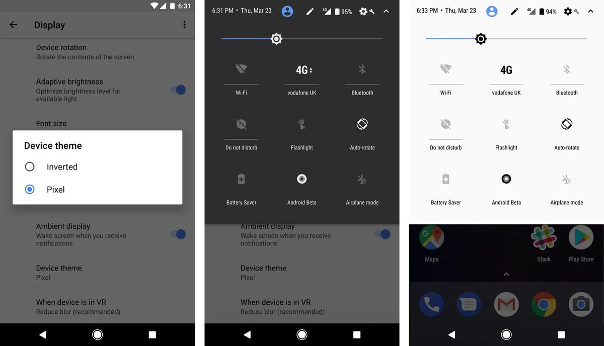 Android O-Themes