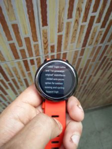 Amazfit Pace 1.3.4f update brings whole lot of new features