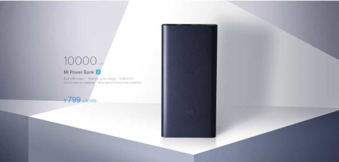 10000mAh Mi Power Bank 2 VS MI Power Bank 2i