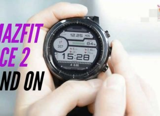 Amazfit Pace 2 first hand on video