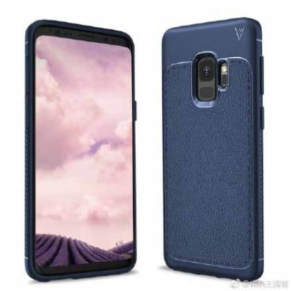 Samsung Galaxy S9 Leaked Images with Case Plus Headphone Jack