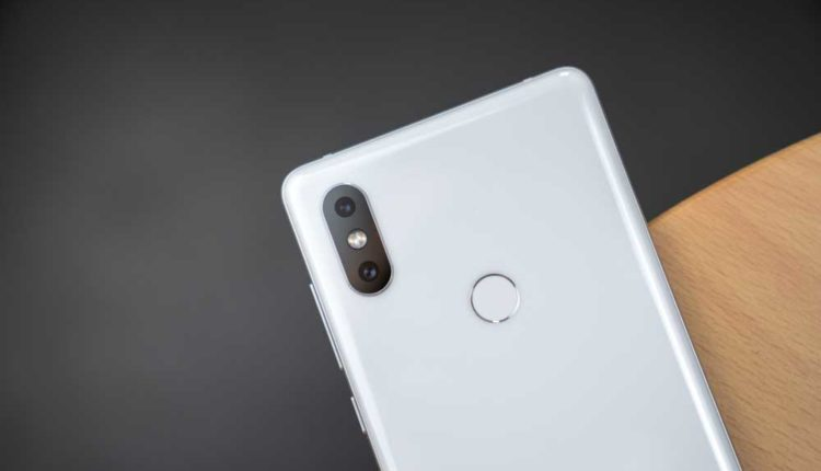 Mi MIX 2s with Wireless Charging and Dual Camera